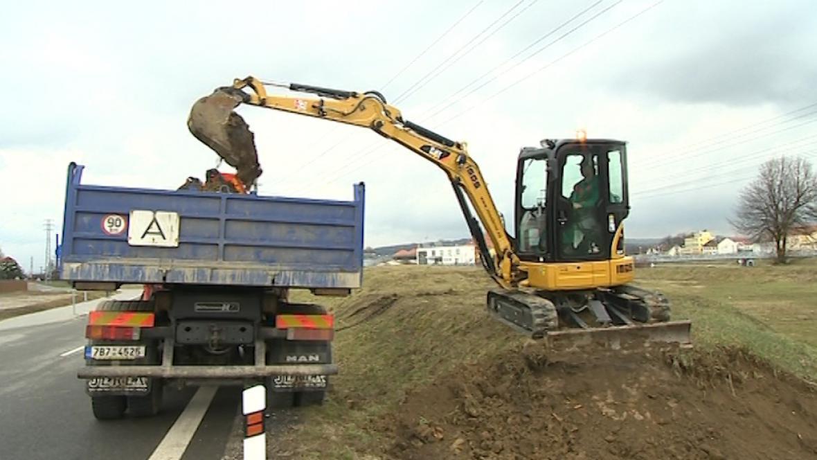 Práce na ochraně Uherského Hradiště začaly