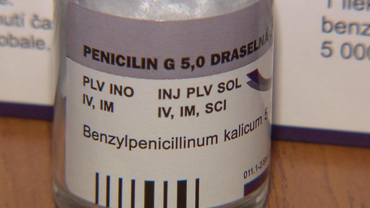 Penicilin G, draselná sůl