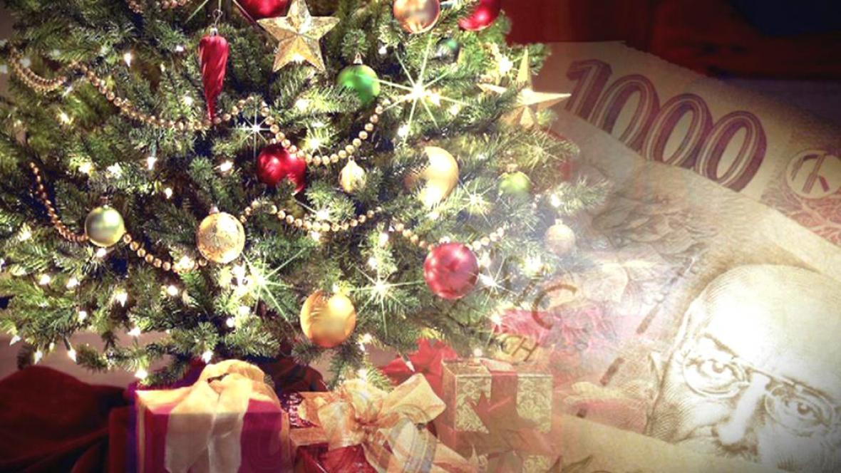 Peníze jako vánoční dárek