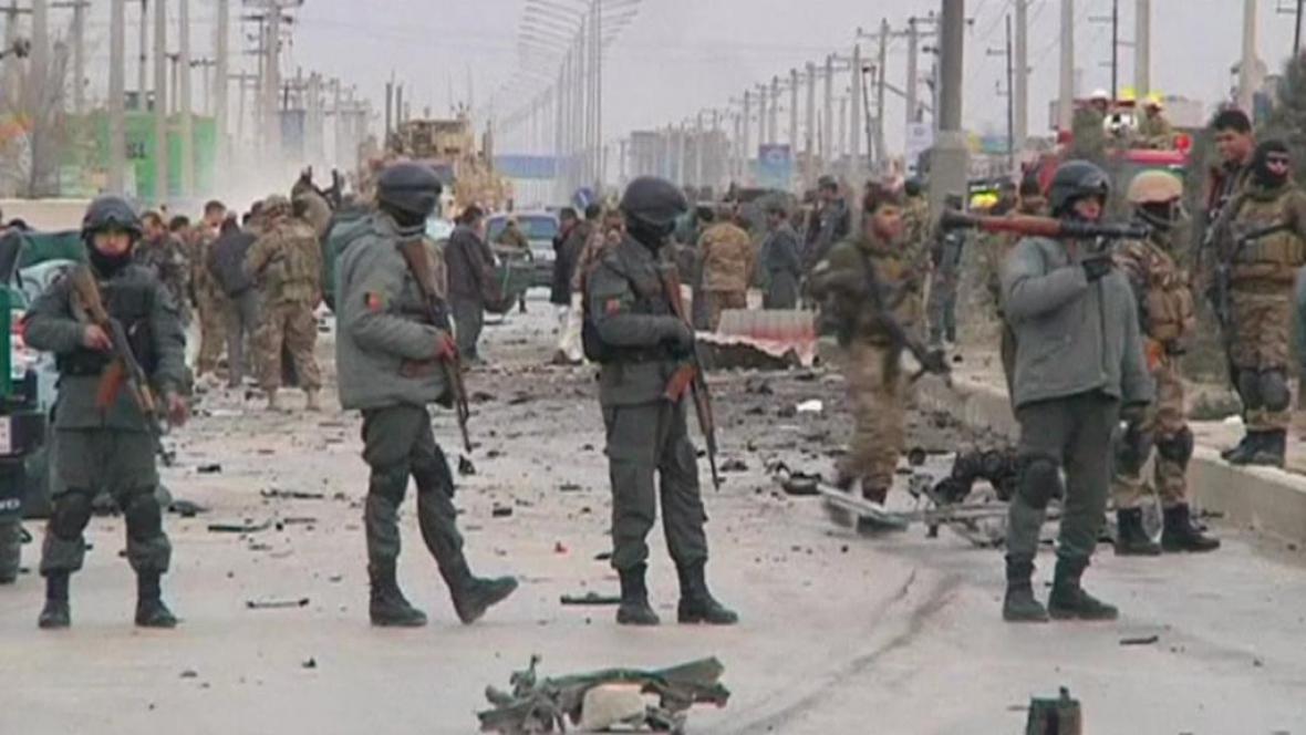 Při útoku v Kábulu zemřeli dva slovenští vojáci