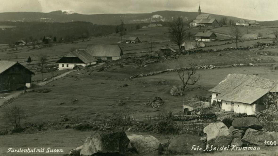 Zaniklé obce Šumavy