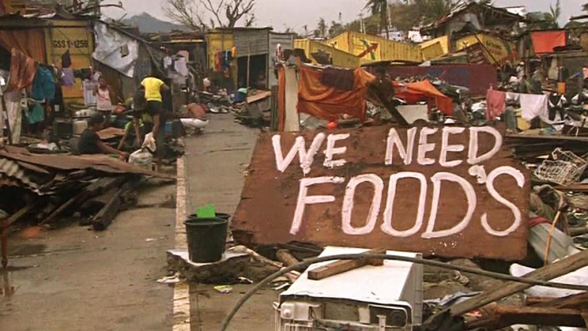 Následky tajfunu Haiyan na Filipínách
