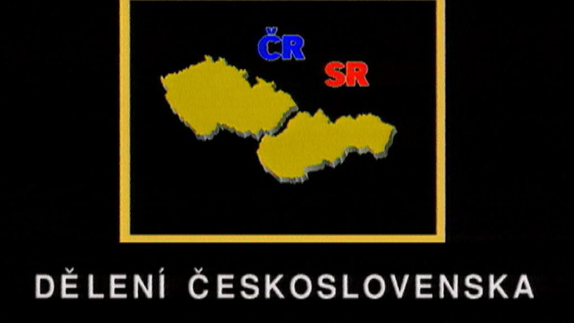 Dělení Československa