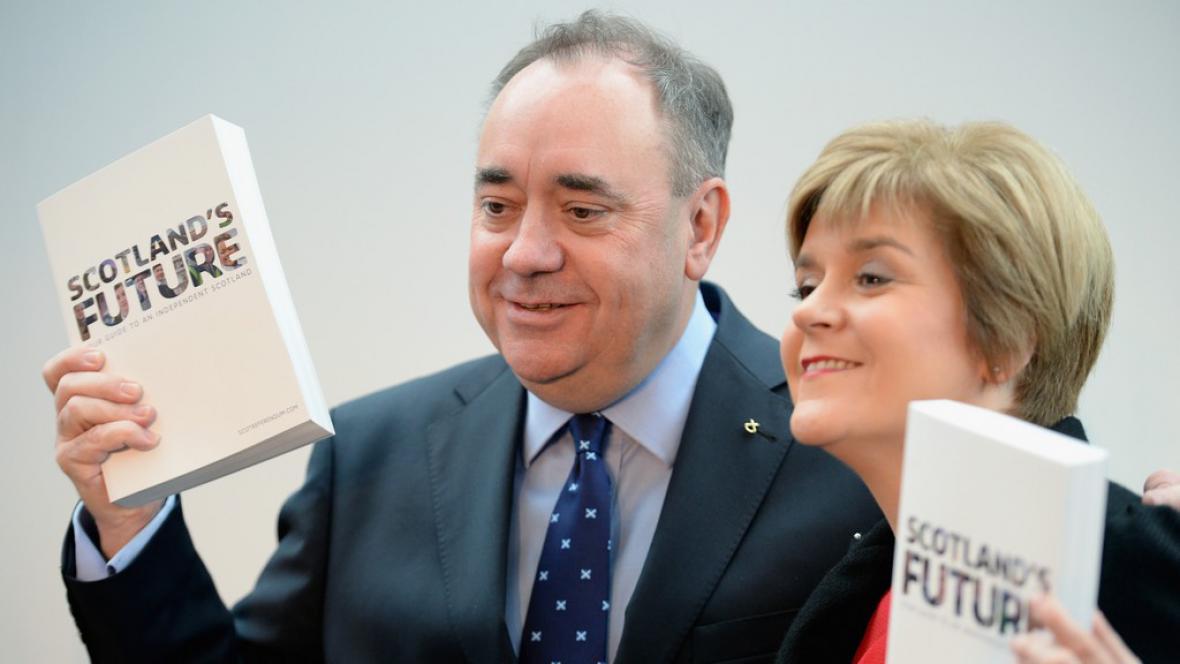 Představení dokumentu o budoucnosti Skotska