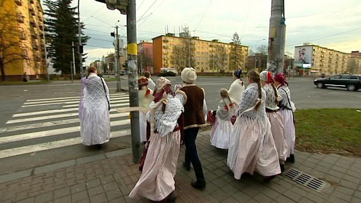 Koledníci v Ostravě