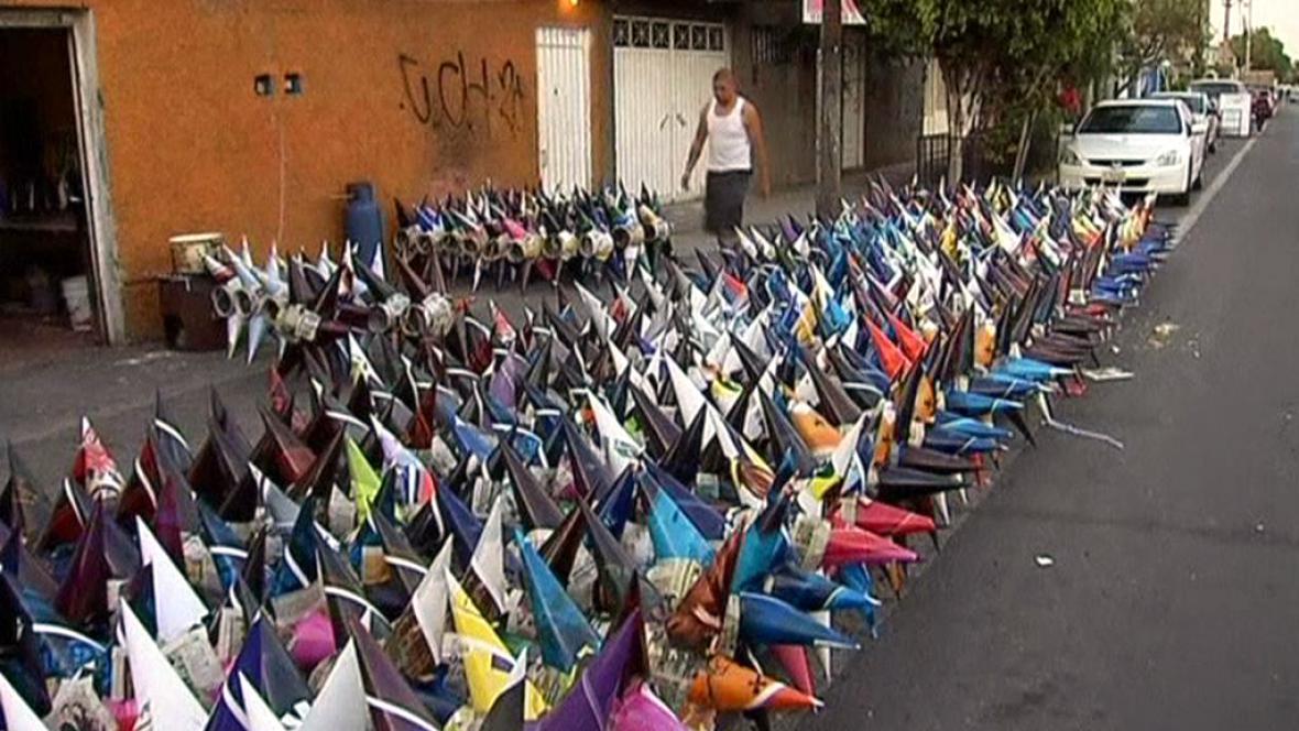 Mexické piñatas