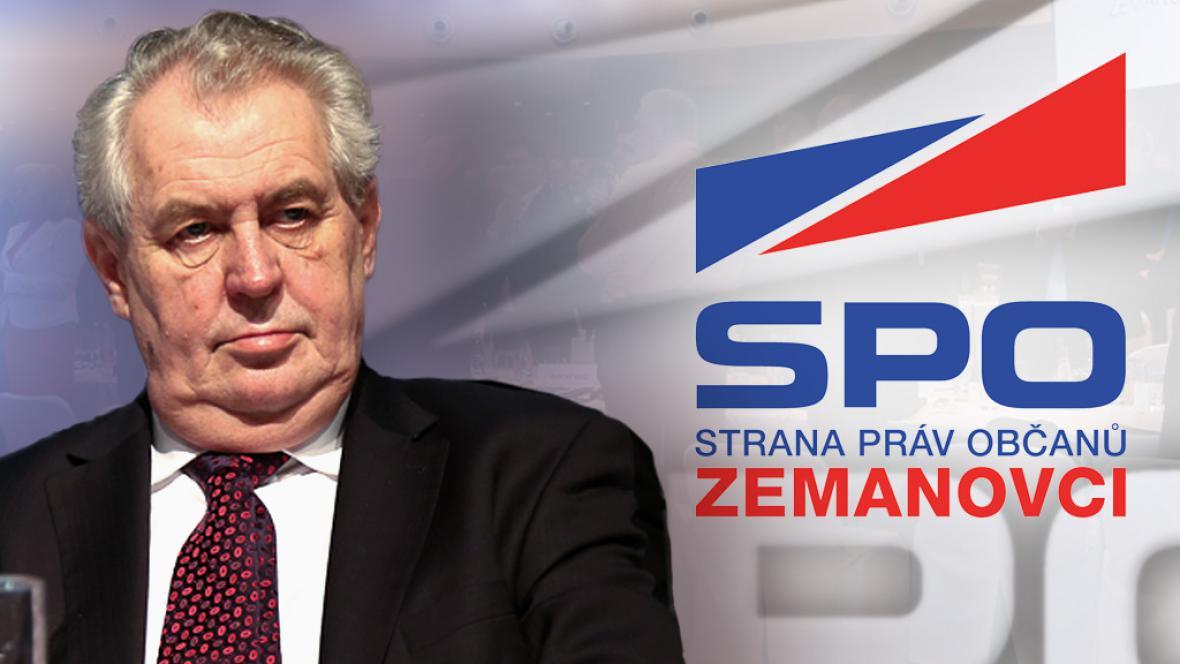 Miloš Zeman a SPOZ