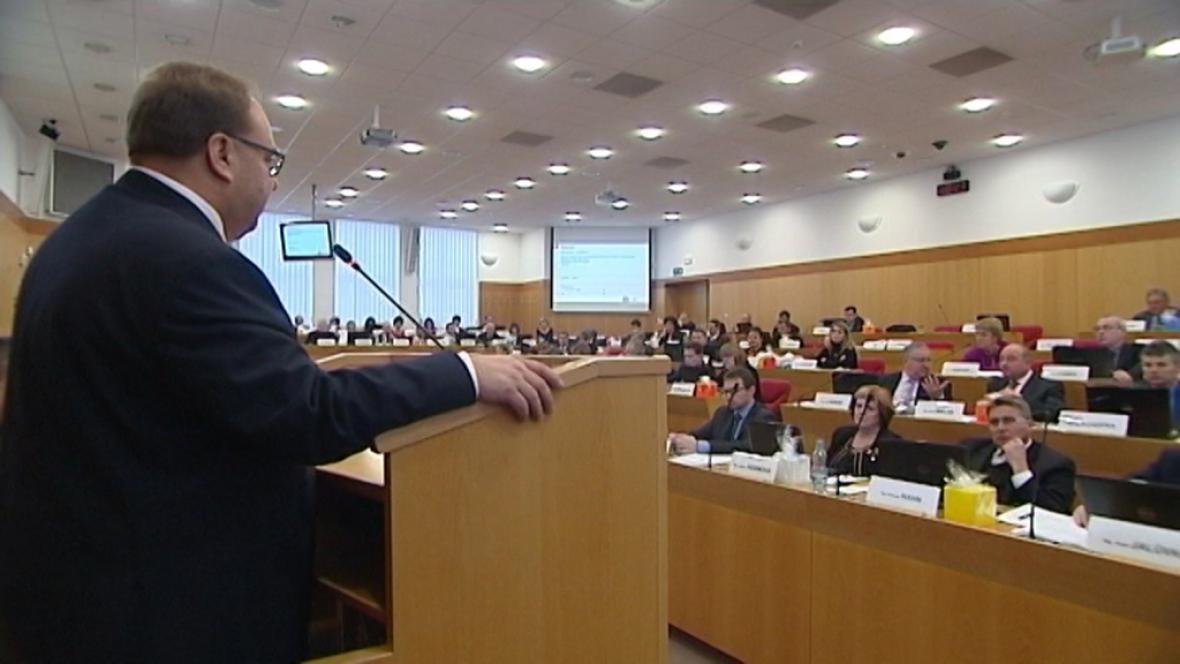 Zasedání zastupitelstva Moravskoslezského kraje