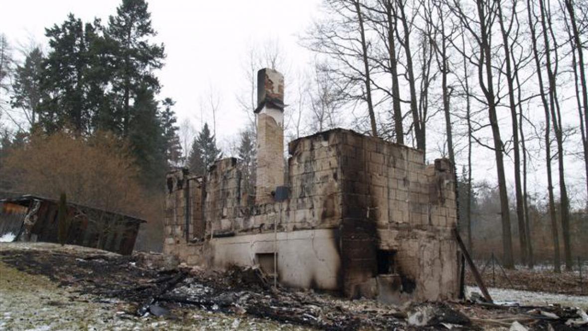 Shořelá chata