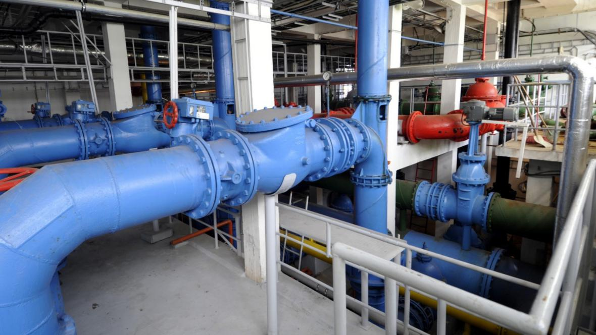 Vodovodní potrubí