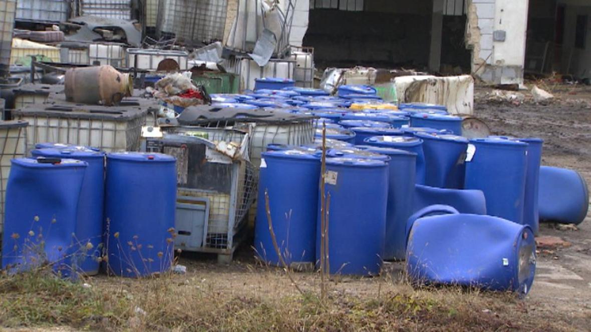 Nebezpečný odpad v Setuze