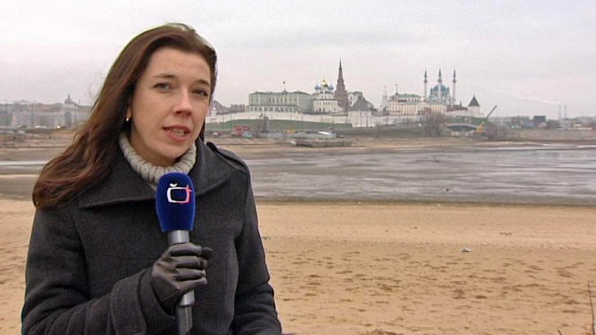 Barbora Šámalová v Kazani