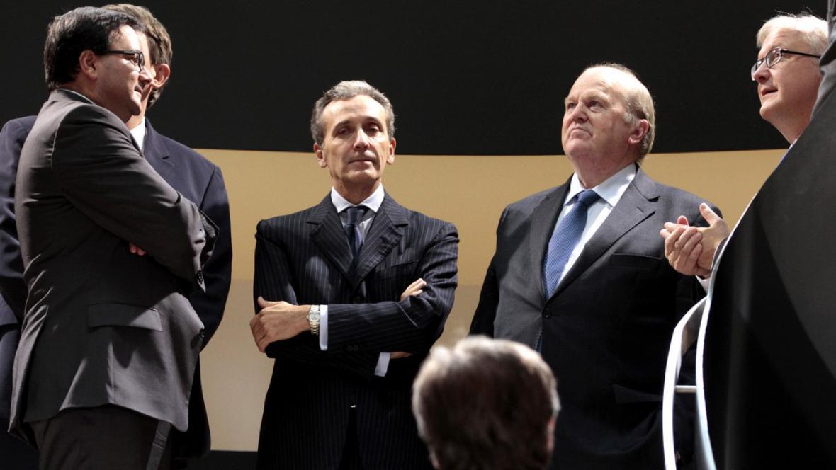 Ministři financí eurozóny