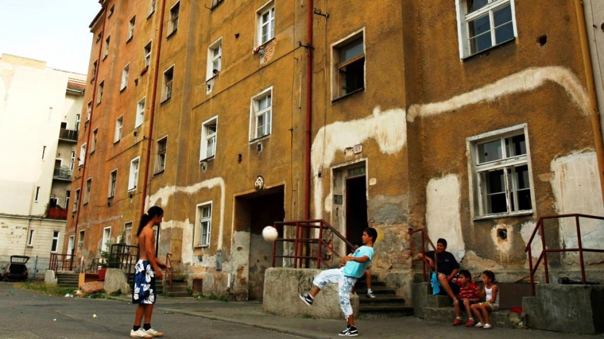 Sociálně vyloučená lokalita v Plzni