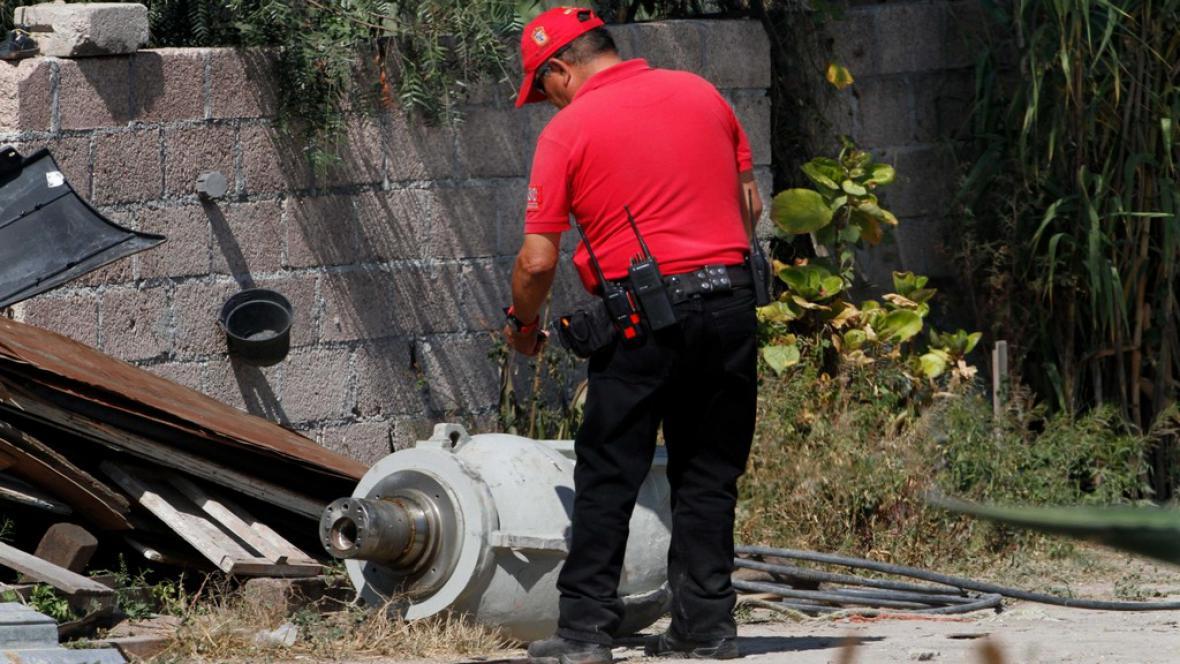 Radioaktivní materiál nalezený v Mexiku