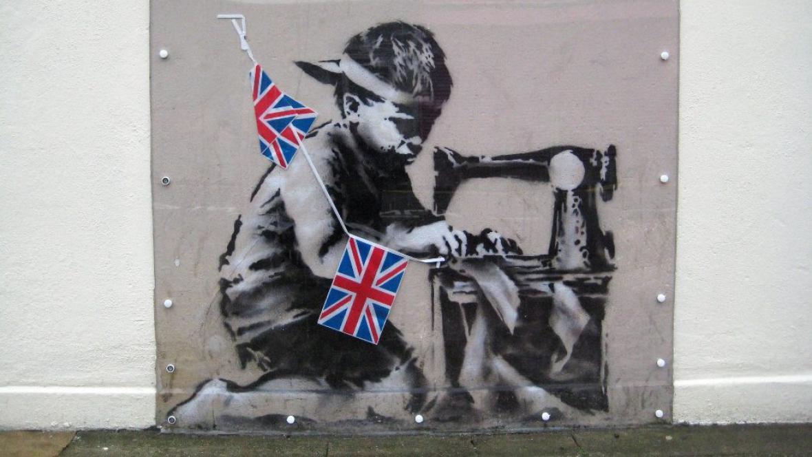 Banksy / Slave Labour
