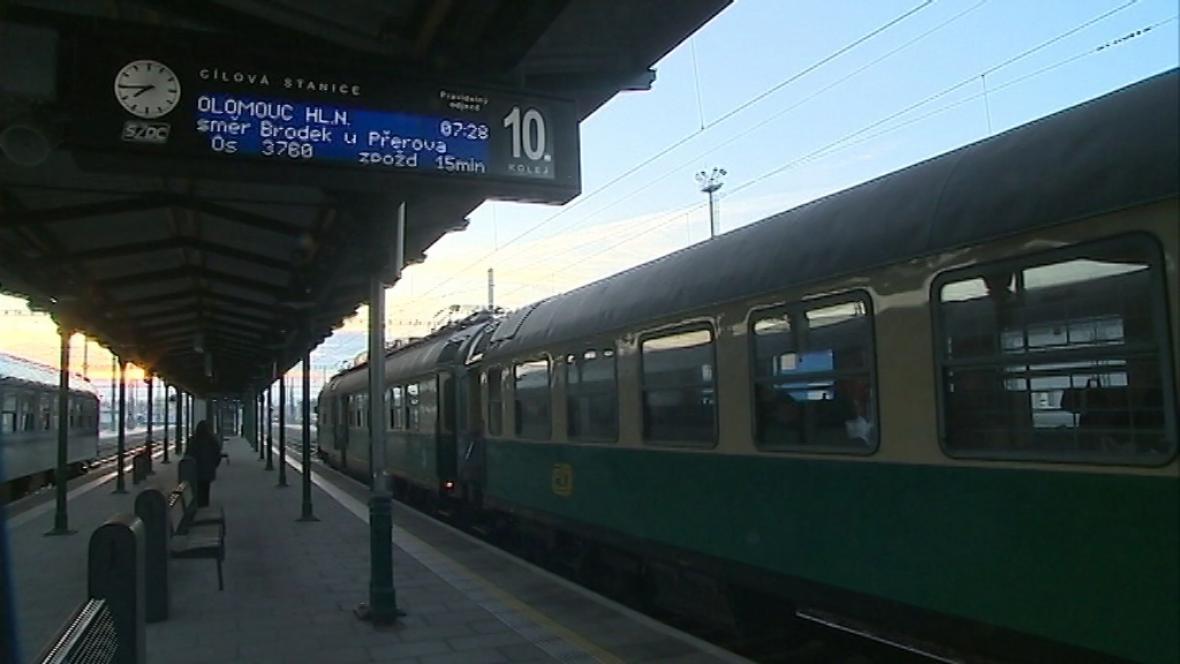 Hlavní nádraží Olomouc