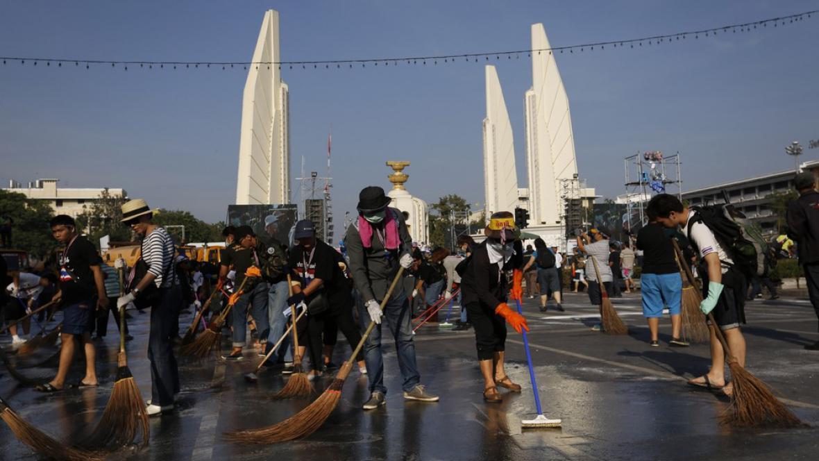 V Thajsku se uklízí