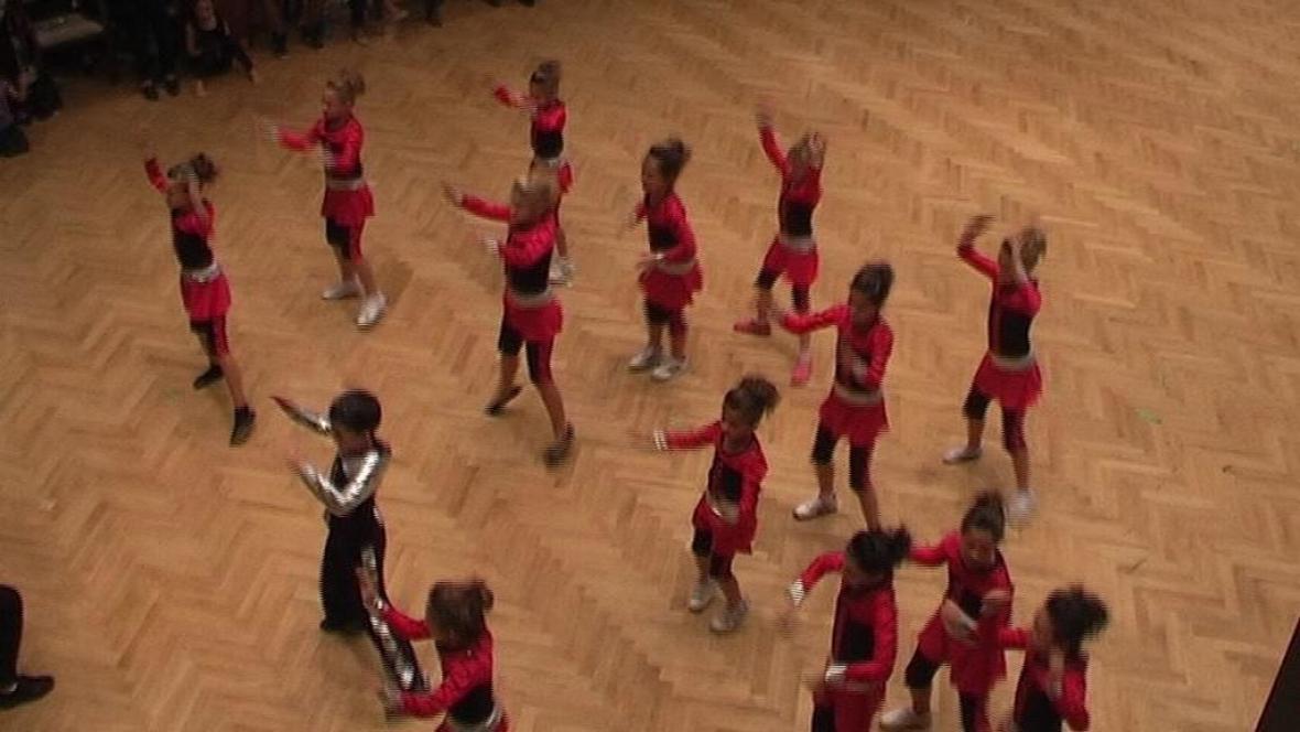Taneční vystoupení v Klatovech