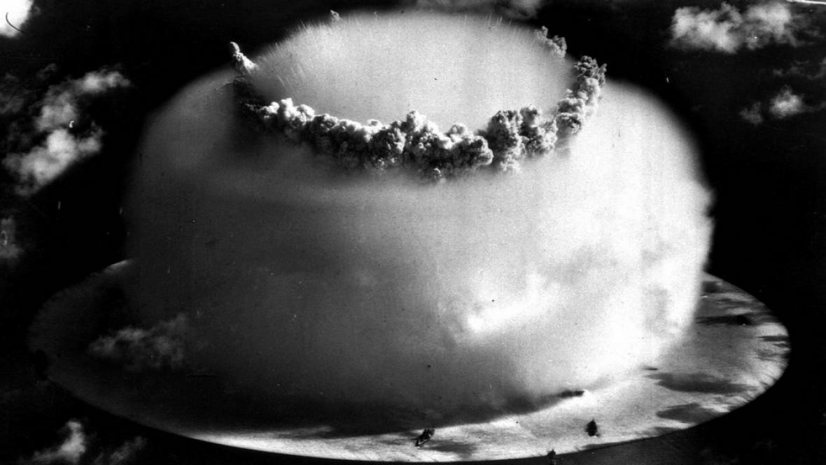 Jaderný výbuch na Marshallových ostrovech