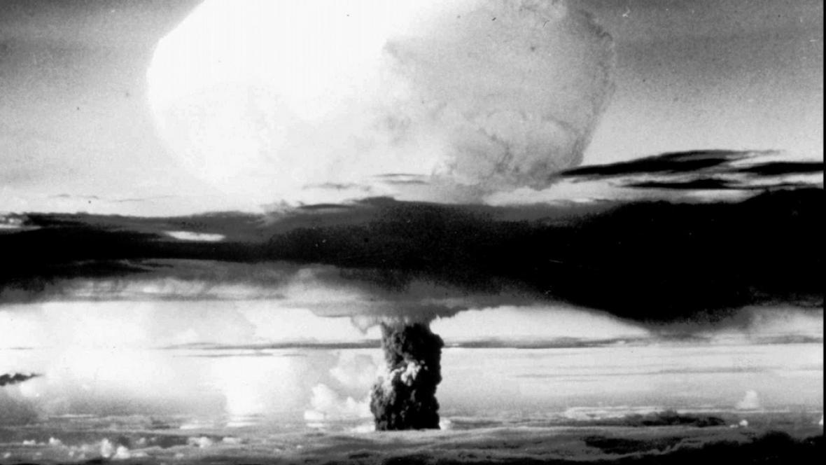 Jaderný výbuch v Novém Mexiku