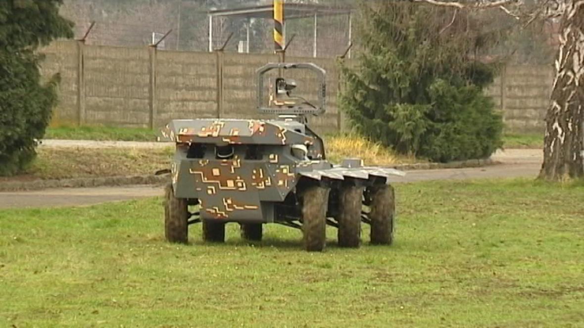 Robot VOP Šenov