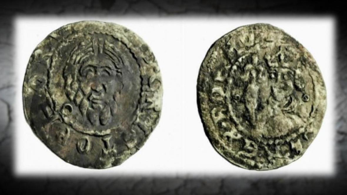 Mince ze 13. století nalezená v Izraeli
