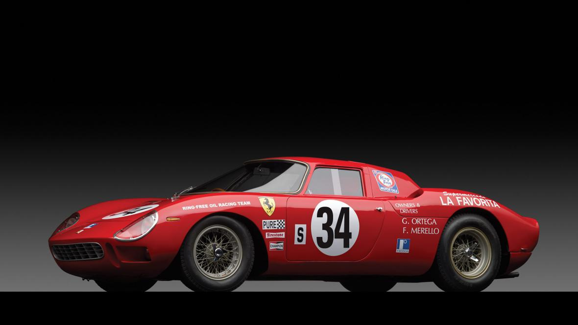 Ferrari LM se vydražilo za 14,5 milionu dolarů