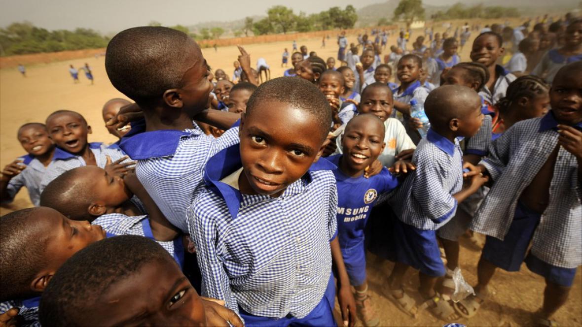 Nigerijské děti