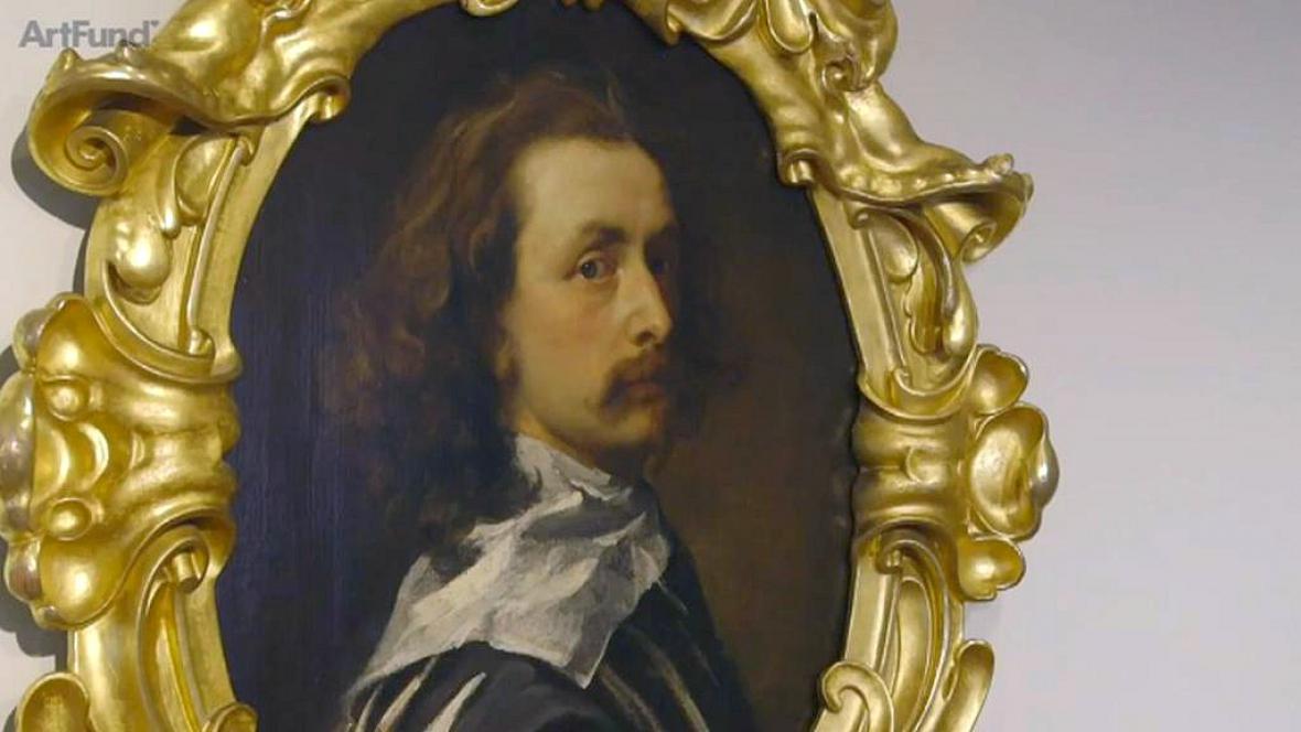 Autoportrét Anthonyho Van Dycka