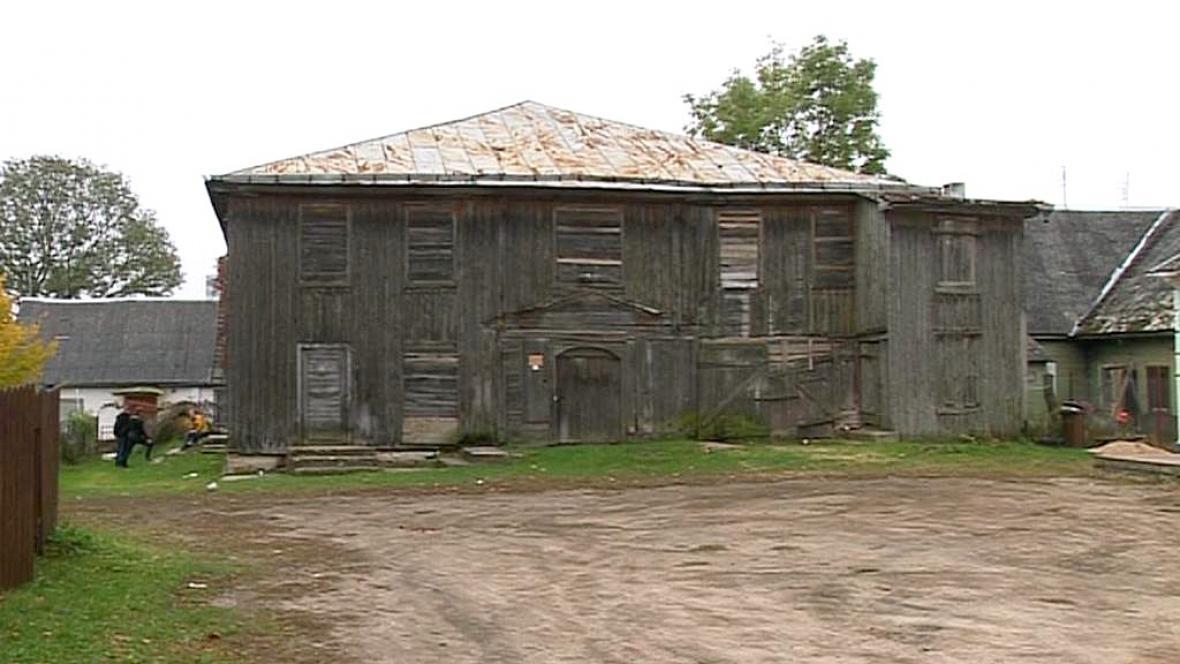 Dřevěná synagoga v Litvě