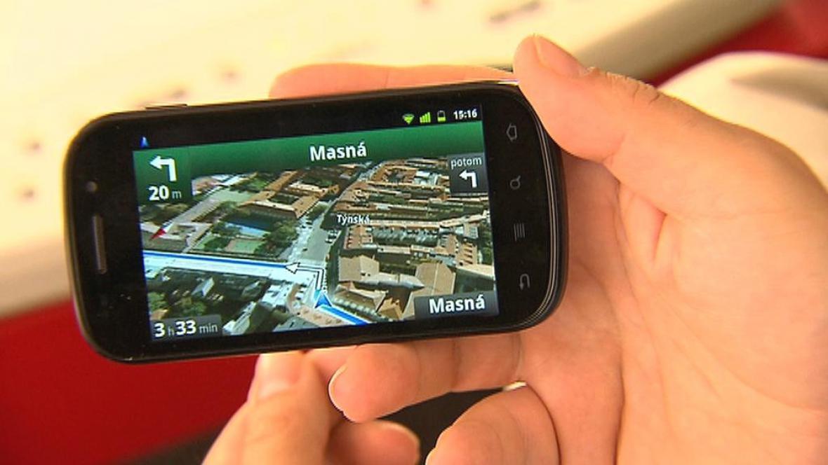 Navigace od Googlu v češtině