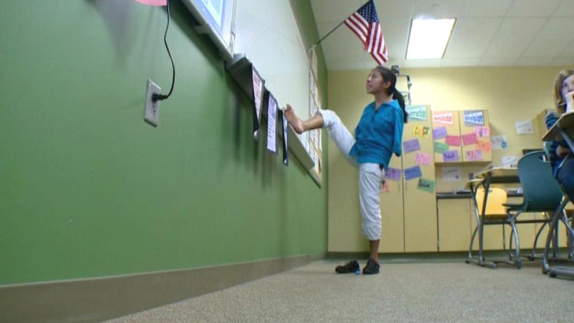 Mary Gannonová dokáže vyučovat i bez rukou