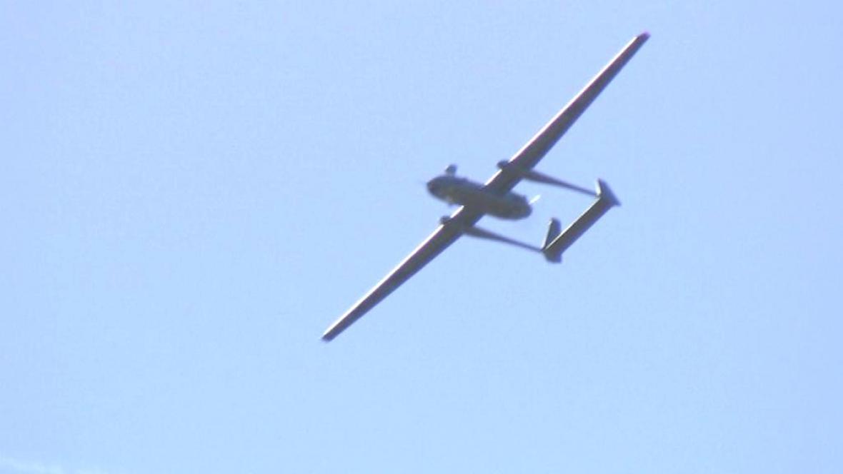 Veletrh dronů v Izraeli