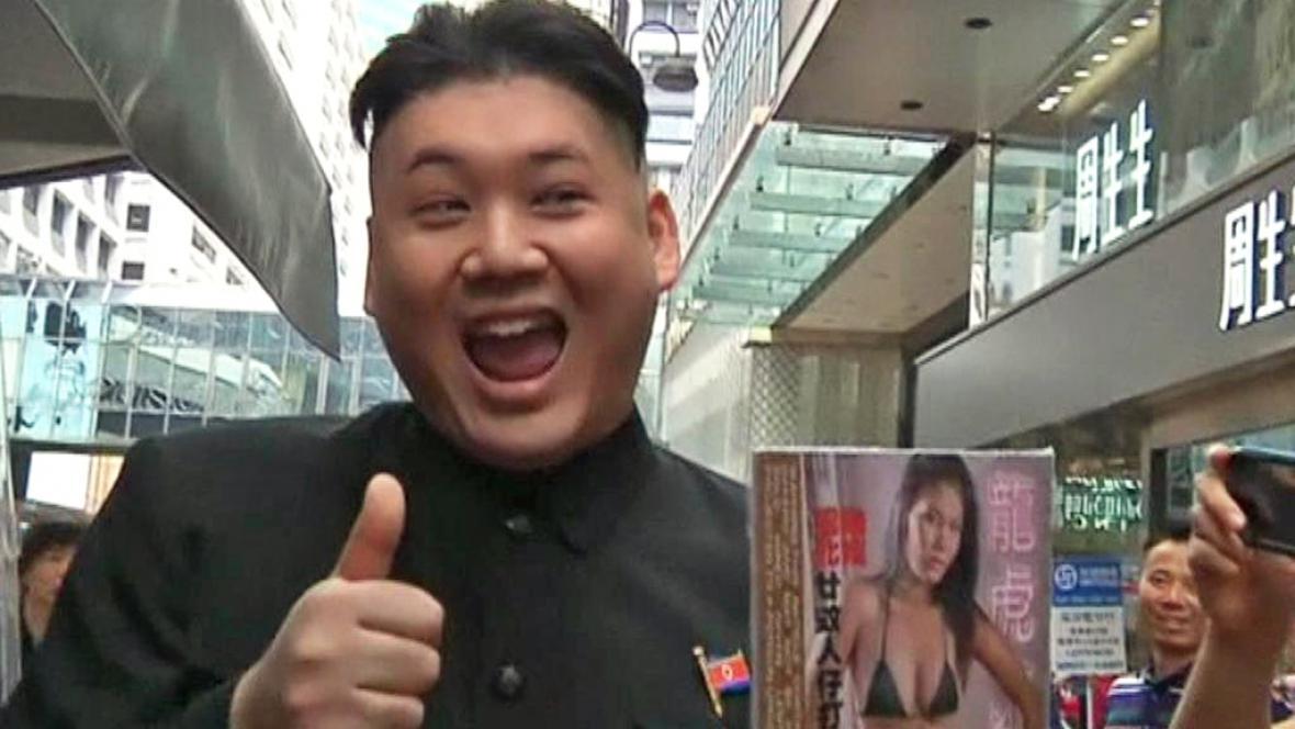 Dvojník Kim Čong-una