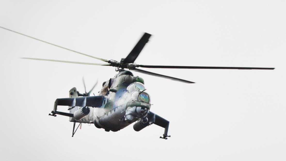 Vrtulník Mi-24 Hind