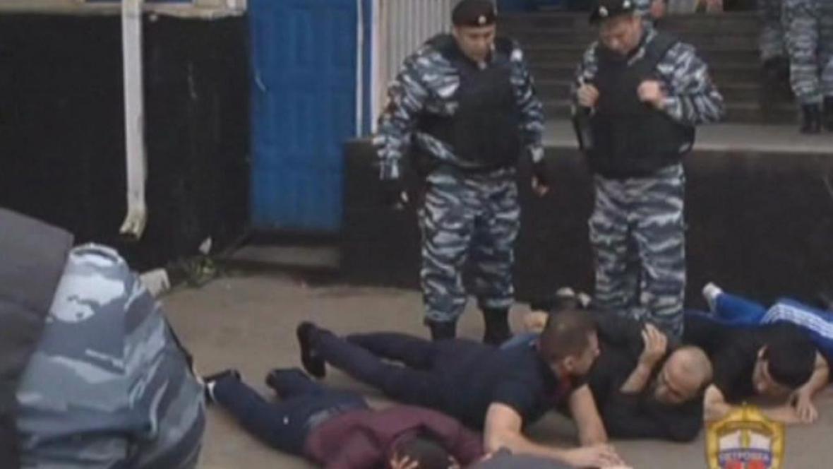 Zásah ruské policie