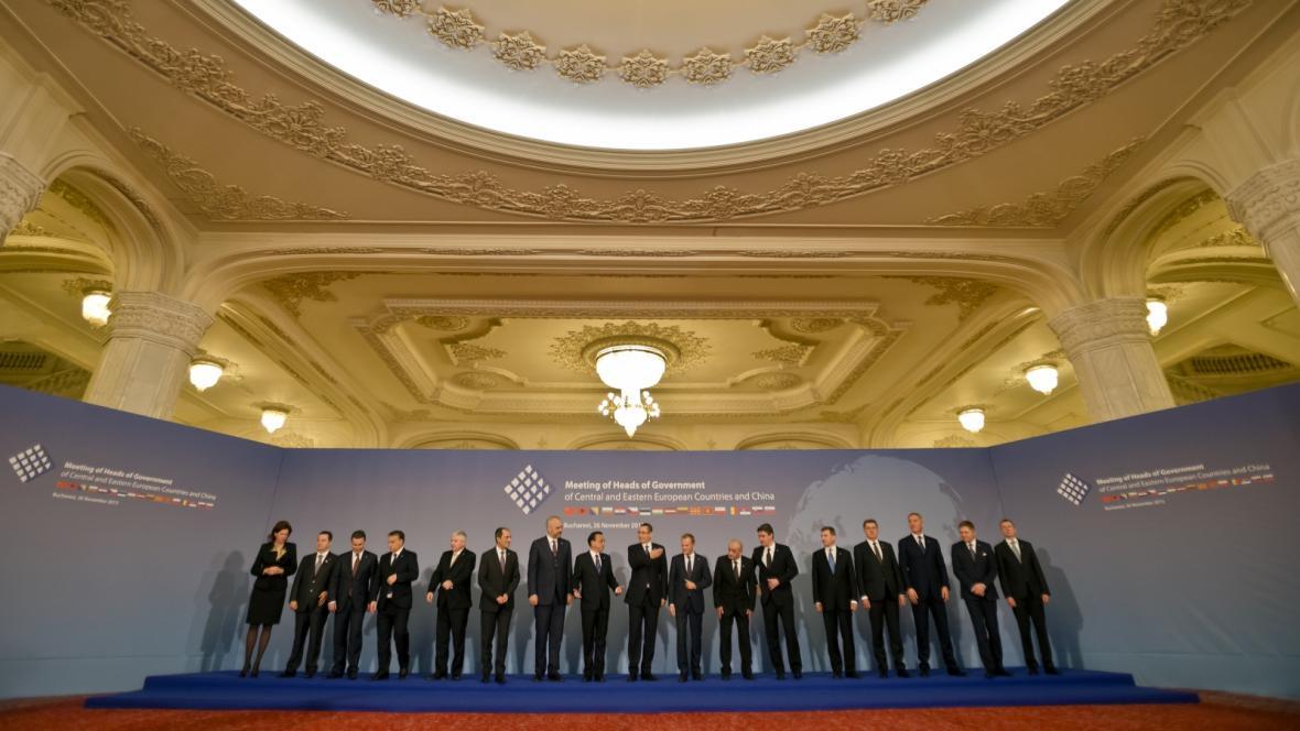 Summit šestnácti evropských zemí a Číny v Bukurešti
