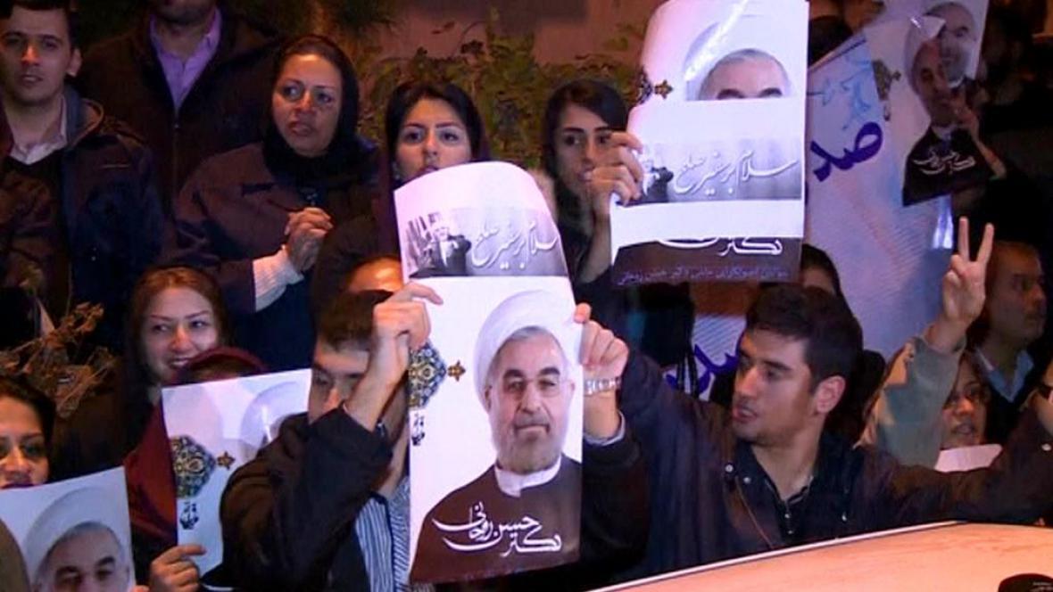 Nadšené přivítání íránských vyjednávačů
