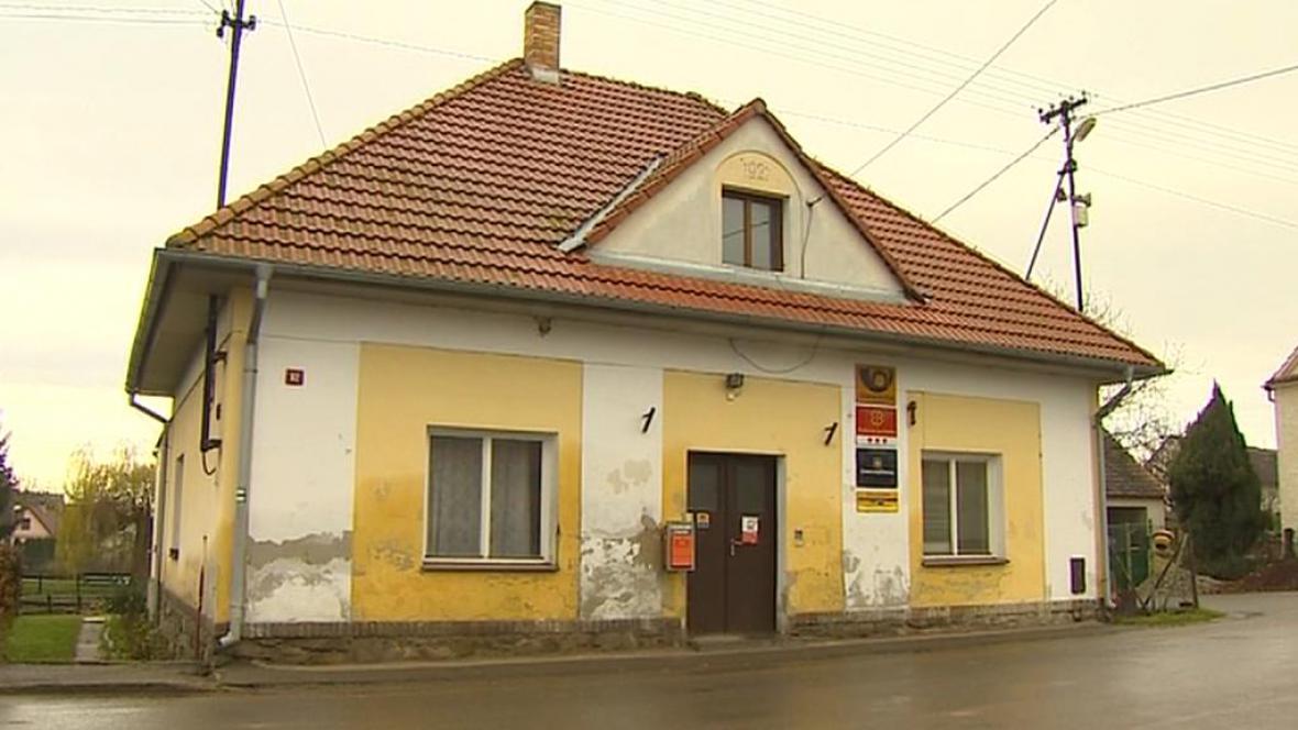 Pobočka České pošty v Kučeři na Písecku