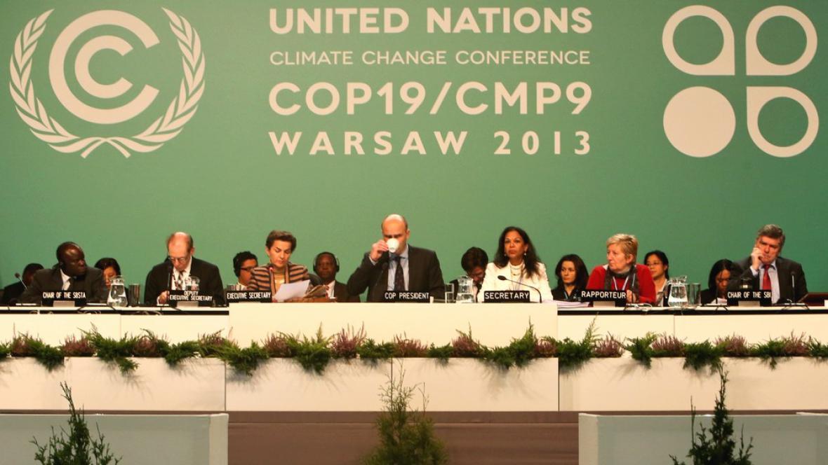 Ekologická konference ve Varšavě