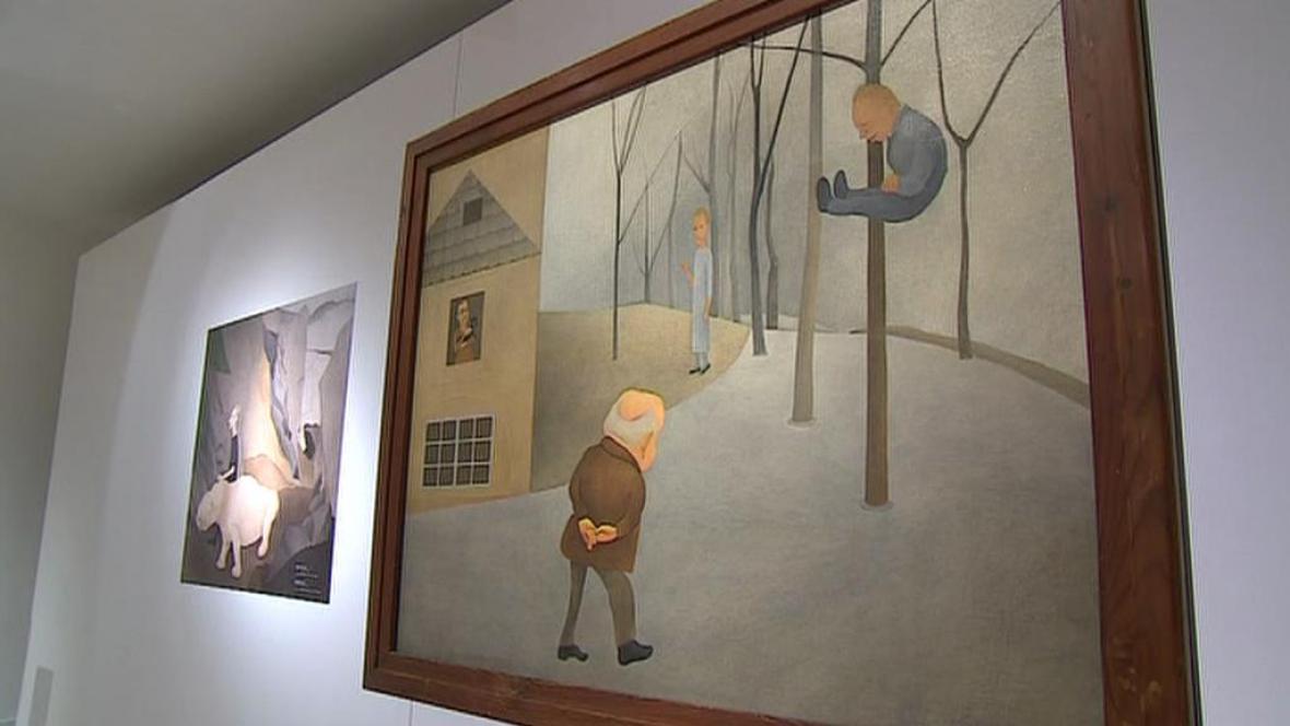 Vlasta Vostřebalová Fischerová vystavuje v Moravské galerii
