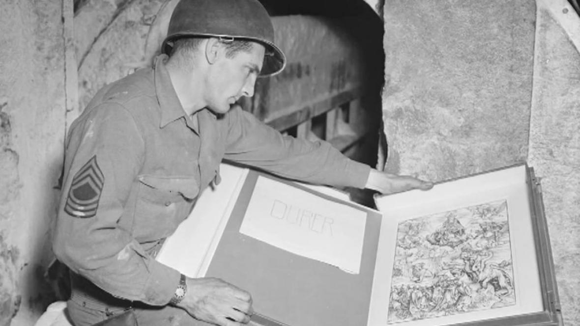 Členové speciální jednotky měli chránit umělecká díla před zničením ve válce