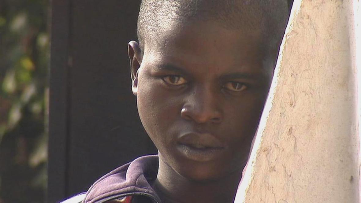 Dítě v Ugandě