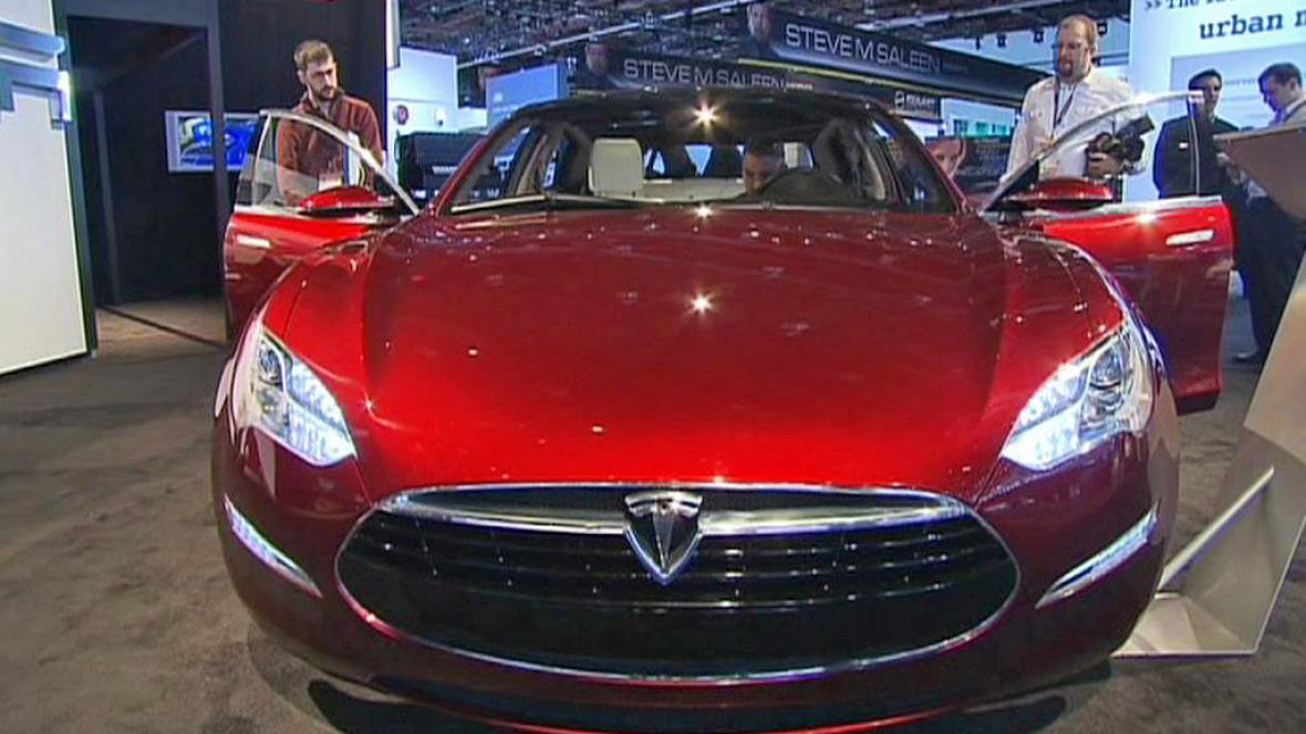 Model S automobilky Tesla Motors