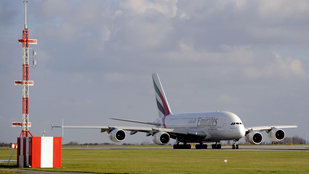 Airbus A 380 společnosti Emirates