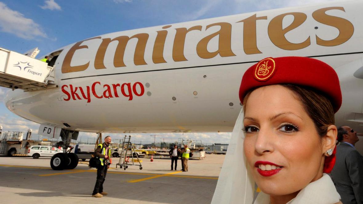 Stevardka u společnosti Emirates