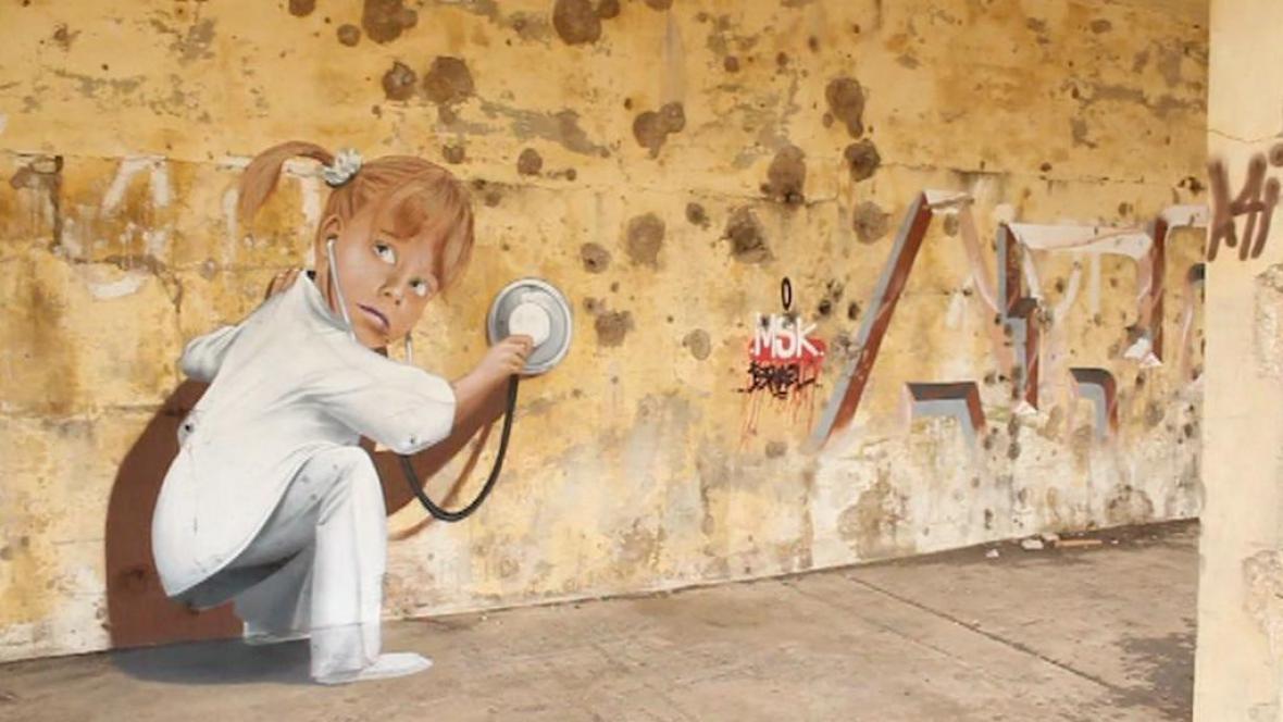 Graffiti - Golanské výšiny