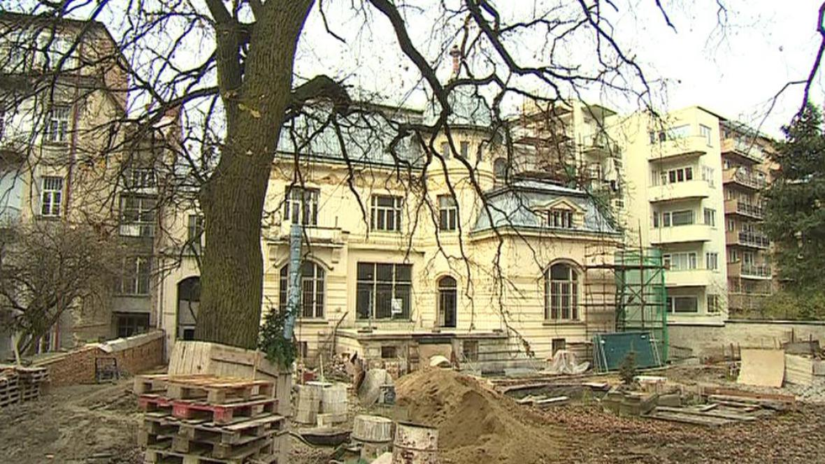 Rekonstrukce Löw-Beerovy vily