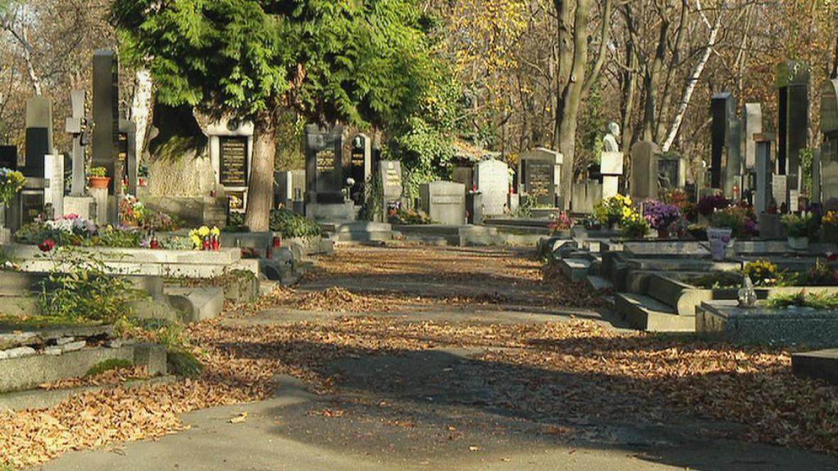 Hřbitov na pražských Olšanech